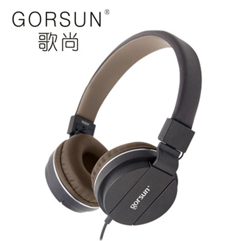 GORSUN GS-779 Portable Headpohnes Stereo Comfortable soundproof Wired With Microphone Support handsfree calls for mobile phone наушники gorsun gs a6005 black