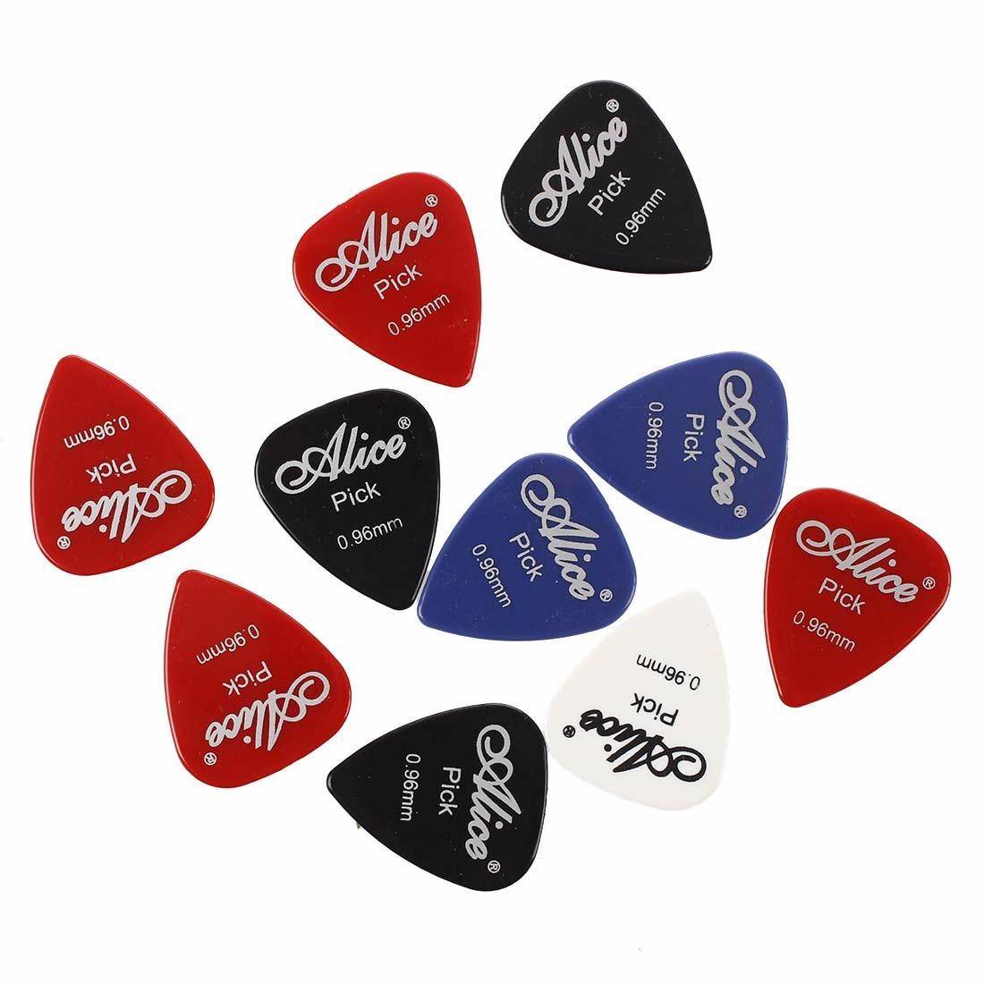 SYDS 10x Plectrum Guitar Accessories Alice Guitar Pick 0.96mm
