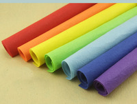Free Shipping Felt Fabric 1MM Nonewoven Fabric 100 Polyester Felt 88colros For Choose 91cm Width Decoration