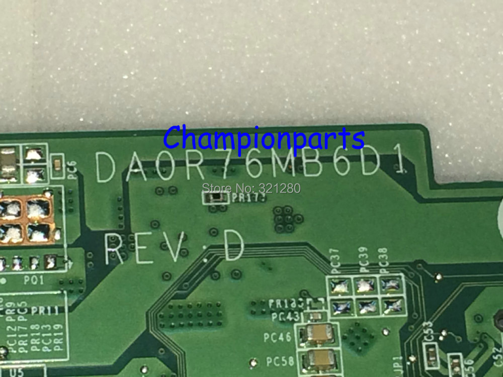 CHOOSE NEW ONE Free Shipping DA0R76MB6D1 (D0 ) REV : D Laptop Motherboard For HP Pavilion 15-E 15Z-E Notebook PC