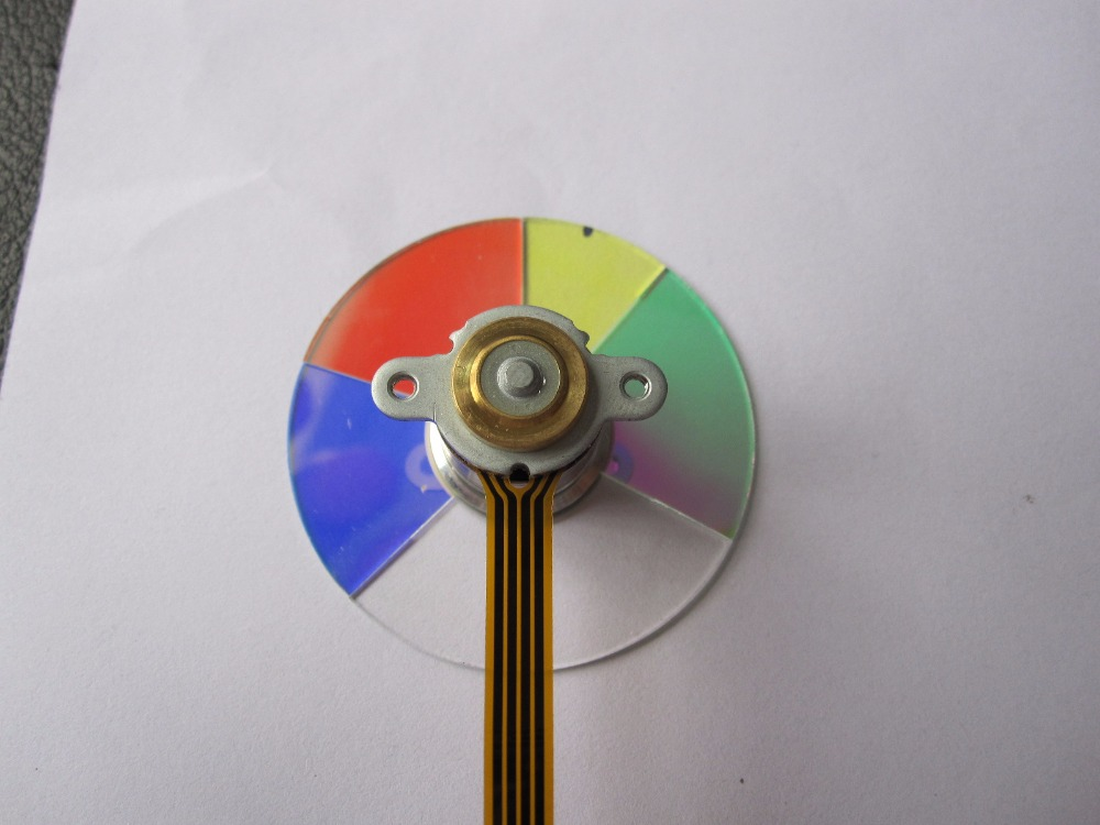 Replacement Projector Color wheel Fit For Optoma HD72I projector color wheel for optoma x303 free shipping