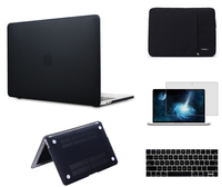 Laptop sleeve case For Apple Macbook Air 11 Pro 15 Retina 12'' Frosted Surface Matte Hard Cover Case new Pro 13 touch bar A1706