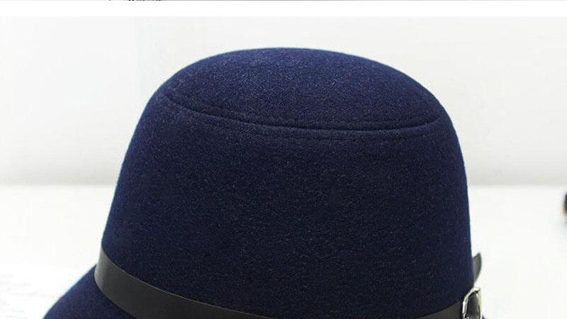 Detail Feedback Questions about Women s fedora wool felt cloche hats ... d95f67a7c594