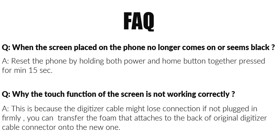 "Grade AAA 4.7"" 5.5"" LCD Screen For iPhone 5s 6 6S Plus LCD Display + Touch Screen Replacement For iPhone 6 S LCD Ecran Pantalla"