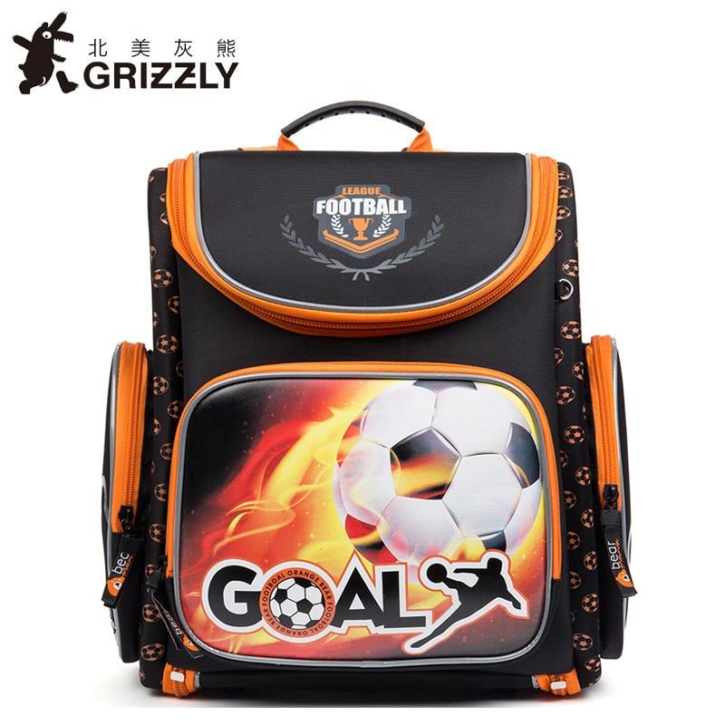 100% Wahr Grizzly Neue Kinder Cartoon Primär Schultaschen Für Kinder Schulranzen Multifunktionale Orthopädische Rucksack Für Mädchen Grade 1-4