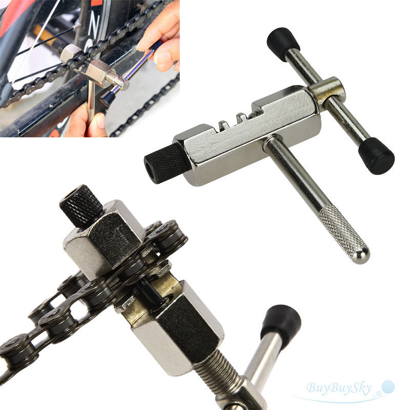 Cycling Steel Parts Bike Chain Breaker Cutter Removal Tool Remover Cycle Solid Repairing Tools Bicycle Chain Pin Splitter Device(China)