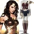 2017 Диана Prince Wonder woman косплей костюм для взрослых Бэтмен v Супермен Рассвет юстиции косплей костюм чудо-женщина костюм на заказ