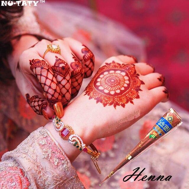 Nu Pasta Henna Taty Rad 1 Piece Warna Hitam Indian Kerucut