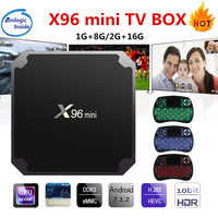 X96 Mini Android TV Box KD Player 17 4 Amlogic S905W Quad Core 2GB 16GB UHD
