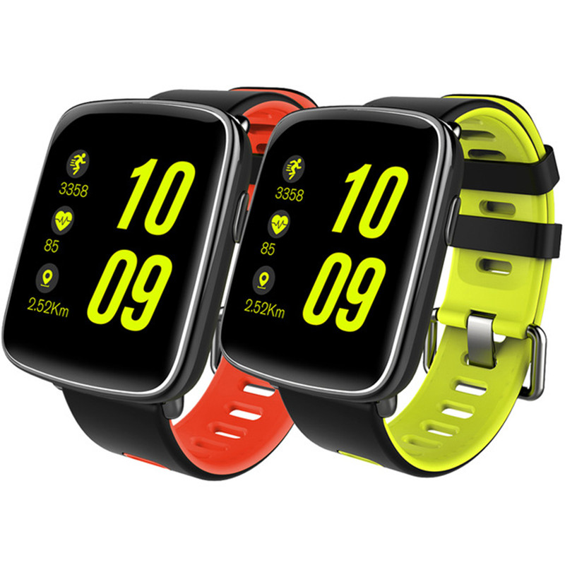 NEW 2018 Top Smartwatch Bluetooth 4.0 Heart Rate IP67 Waterproof Monitor Smart Watch Remote Camera Pedometer for Android IOS