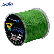 Erchang Fishing Line 300m PE Braided 4 Standers Super Strong PE Braided Fishing Line 12-68LB Multifilament Fishing Saltwater