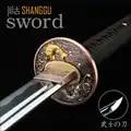 T10 metallo Fine artigianato. Stereo con taglierina pesce in Giappone. Katana, ninja film mostra reale sword. metallo Collection regalo di compleanno