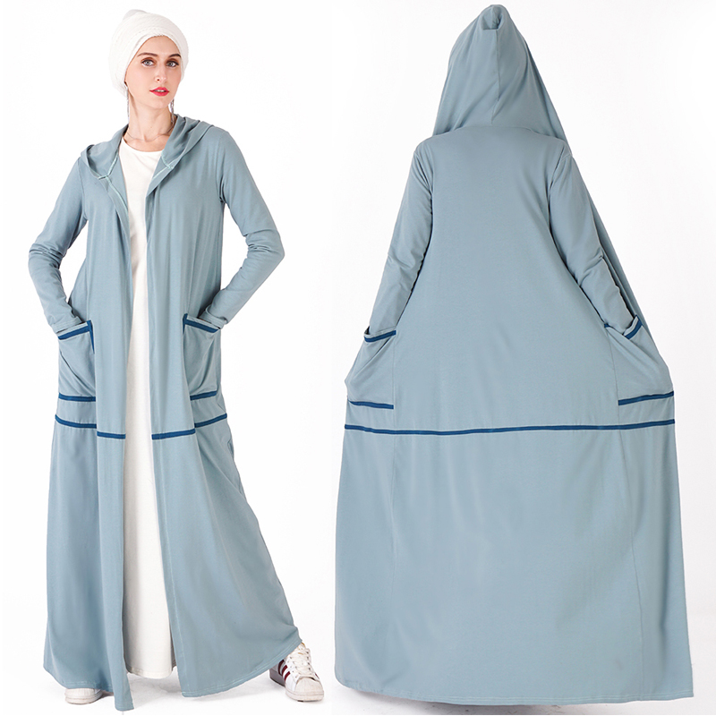 Sport Open Abaya Turkey Dubai Kimono Muslim Hijab Dress Jilbab Caftan Abayas For Women Kaftan Islamic Clothing Ramadan Elbise