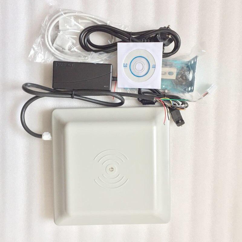 Бесплатная sdk_long диапазон пассивных UHF RFID считыватель 2 ~ 5 м расстояния и WG26/34, RS232/485 интерфейс