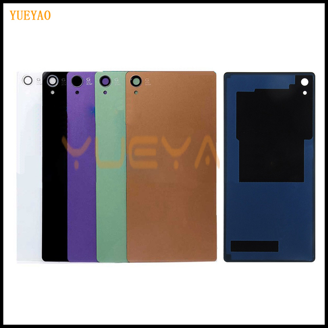 save off 4e343 aad9f US $1.82  YUYEAO Z3 Back Glass Cover Battery Door For SONY XPERIA Z3 Back  Cover L55T D6603 D6643 D6653 Rear Panel Housing Case-in Mobile Phone ...