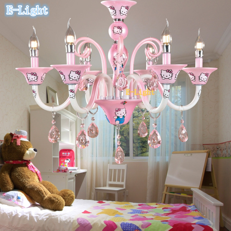 New design Modern Korean Girl Baby living room chandelier bedroom ...