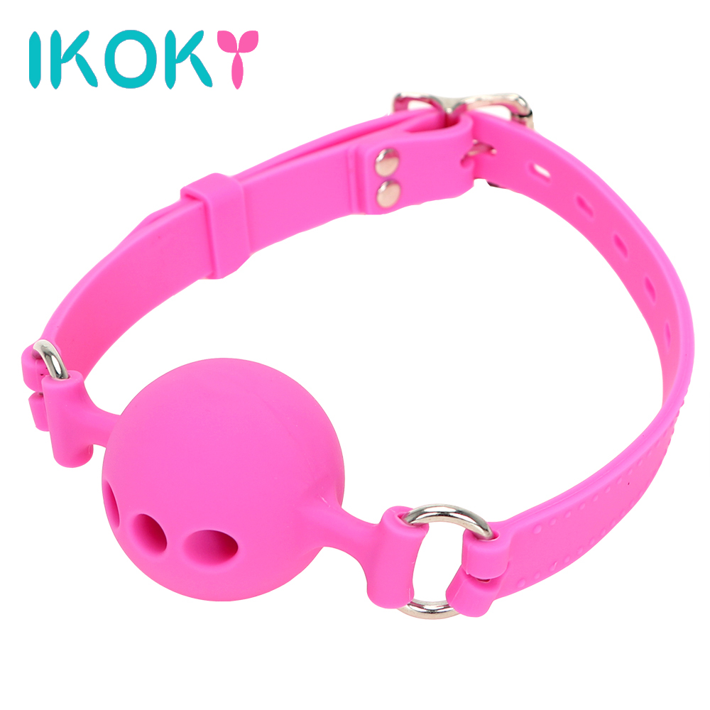 IKOKY Mouth Stuffed Oral Fixation Sex Toys for Couples