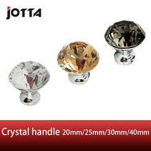 1pcs Crystal  glass dril Kitchen Drawer Cabinet Door Handle Furniture Knobs Hardware Cupboard Antique Brass Shell Pull Handles недорого
