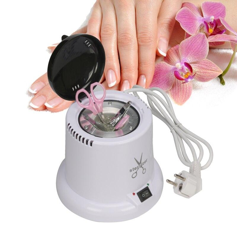 Alta Temperatura Sterilizzatore e Disinfezione Box per Nipper Pinzette Strumenti Clean Sterilizzatori Pot Nail Art Strumento