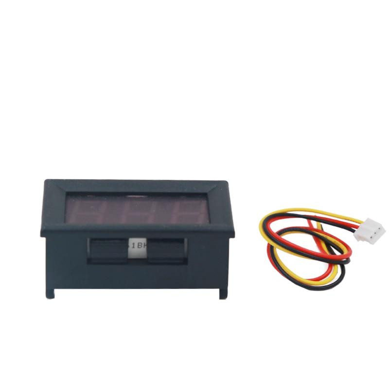 DC 100 V voltmeetri ampermeeter Punane LED-võimendi digitaalse - Mõõtevahendid - Foto 4