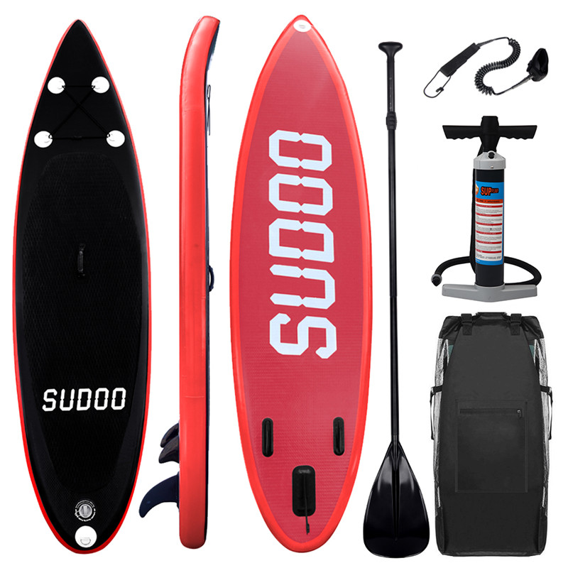 300x84x15 CM 10FT SUP Stand Up Gonflable Paddle planche de Surf Planche de Surf Adultes - 2