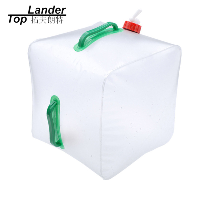 20L Collapsible Folding Bucket Water Kettle Ultralight Portable Camping Outdoor Sport Travel 20 liter Collapsible Water Tank naturehike outdoor camping collapsible folding water carrier container white 10l
