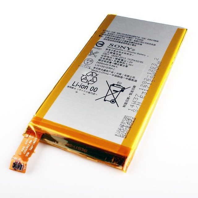 Original Sony LIS1561ERPC Battery For Sony Xperia Z3 Compact Z3c Mini Z3 Mini D5803 D5833 2600mAh