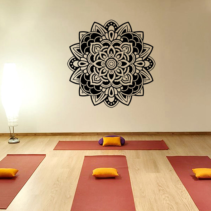 Buy Buddha Quotes Namaste Wall Decals Yoga Mandala Wall Stickers Living Rooms