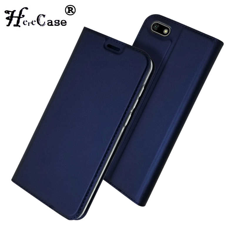Honor 7A Case Soft PU Book Cover Card Slot Wallet Leather Flip Case For Huawei Honor 7A DUA-L22 RU For Huawei Y5 2018 Case 5.45""