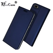 """Honor 7A Case Soft PU Book Cover Card Slot Wallet Leather Flip Case For Huawei Honor 7A DUA L22 RU For Huawei Y5 2018 Case 5.45"""""""
