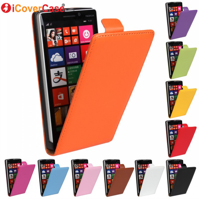 For Microsoft Nokia Lumia 925 830 920 930 1020 Cases Cover Flip Leather Case Protector Shell Coque Capa Mobile Phone Accessories