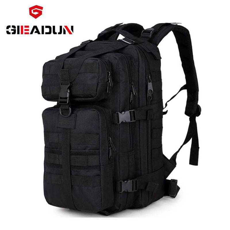 Bicycle bag attack tactics backpack military fans outdoor shoulder climbing backpack waterproof CS camouflage bag 35L|Bicycle Bags & Panniers| |  - title=