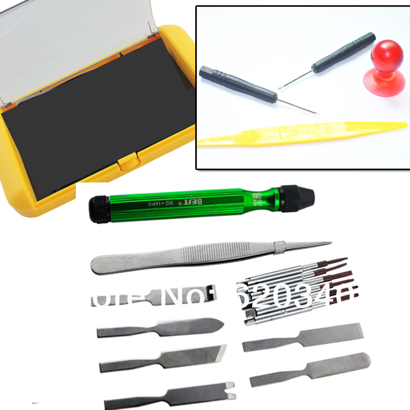 Best BST-302 18 in 1 Precision Detachable Multi <font><b>Bits</b></font> <font><b>Screwdriver</b></font> Knife Kit for Mobile Phone Tablet Repair <font><b>Tools</b></font>