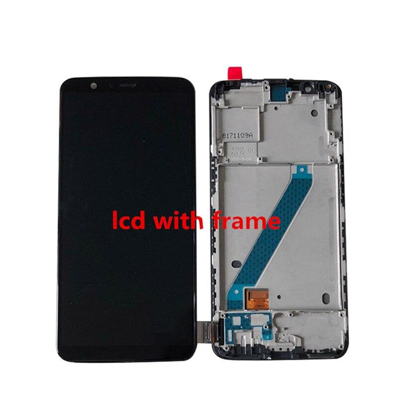 Image 2 - Oneplus 5T A5010 LCD 화면 디스플레이 + Oneplus 5 A5000 디스플레이 용 프레임이있는 터치 디지타이저 용 기존 Supor Amoled M & Sen휴대폰 LCD   -