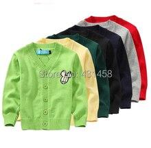 Бесплатная доставка осень Осень мальчик и девочка мультфильм Хлопок свитер пальто детская одежда(China (Mainland))