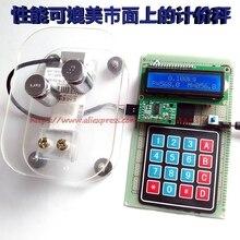 Бесплатная доставка весы взвешивания датчик обнаружения Давления HX711 электронного обучения комплект
