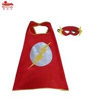 30 Peleryna + 30 Maska 70*70 cm Dziecko superhero batman superman Superhero peleryna płaszcz dla dzieci Party Cosplay boże narodzenie kostiumy