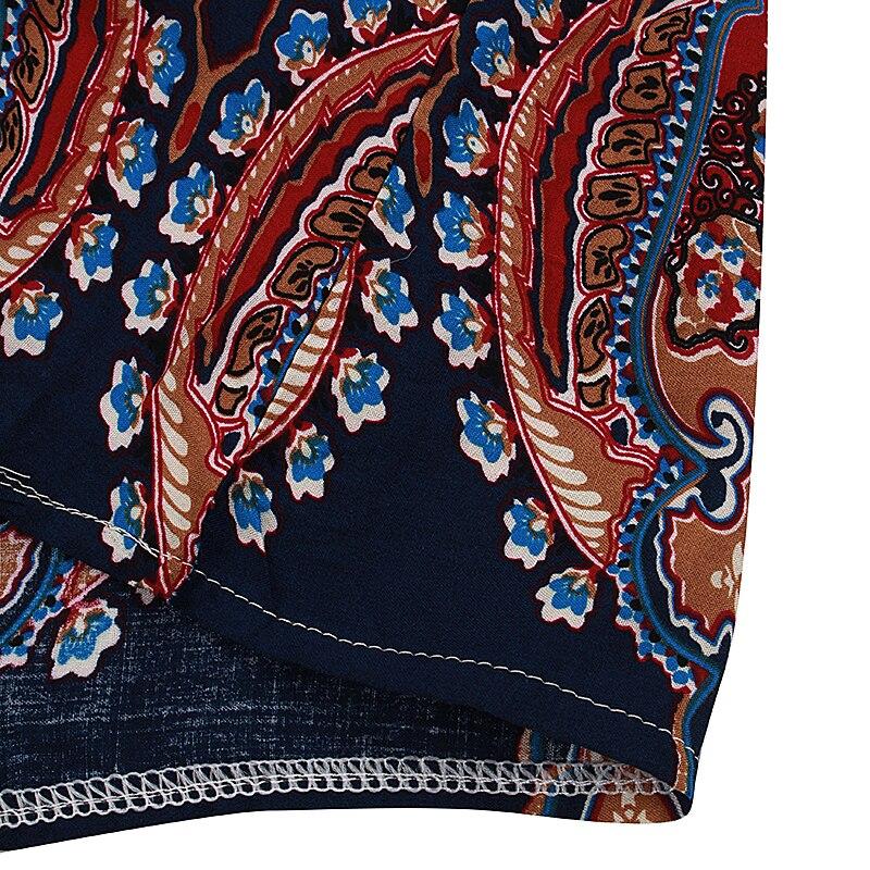 Летний стиль 2017 женщин случайные свободные шифон платье сексуальный рукавов о-образным вырезом распечатать Бохо vestidos пляж мини платье плюс размер s-3xl