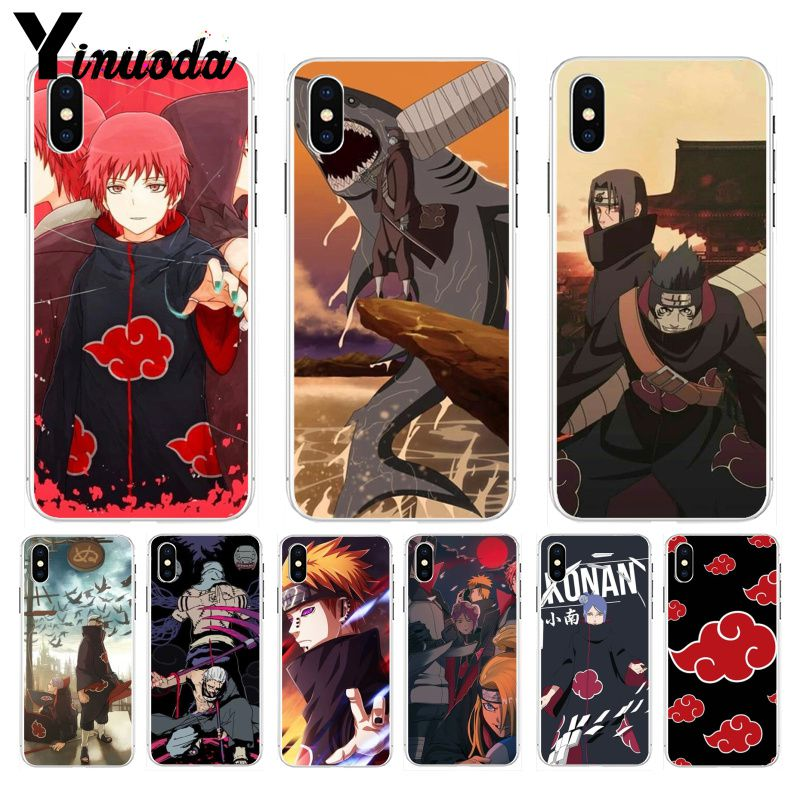 Cell Phone Accessories Cell Phones & Accessories Good Coque Rigide Pour Iphone 6 6s Naruto Shippuden Sasuke Akatsuki 10