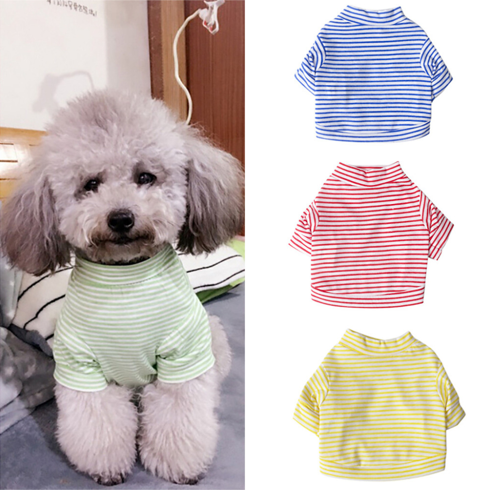 Pet Dog Clothes For Small Dogs Summer Clothes Puppy Clothing Shirt Winter Warm Vest Printed Pet Dog Puppy Vest T-shirt Dog Cloth