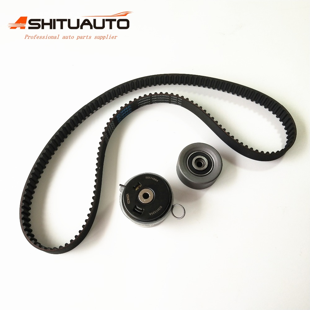 AshituAuto High quality Genuine Engine Timing Belt Kit For Chevrolet Cruze Sonic Epica Buick Regal 24422964