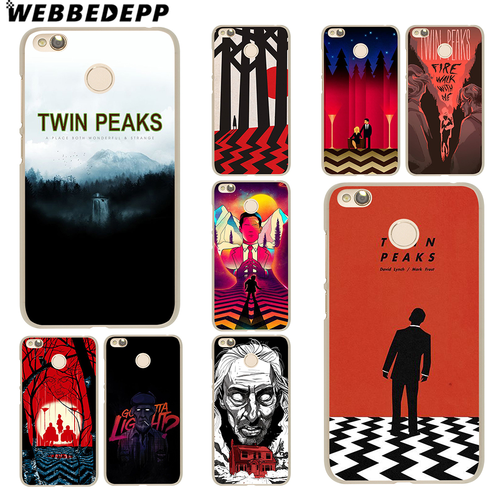 WEBBEDEPP Twin Peaks Case for Xiaomi Mi 8 SE 6 5S Plus 5X A1 Redmi 4X 4A 5 Plus 4 3 Pro 3S Note 4 3 2