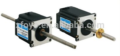 stepper motor 42mm (two phase )-Straight wire rod 428yghm818 stepper motor two phase four wire