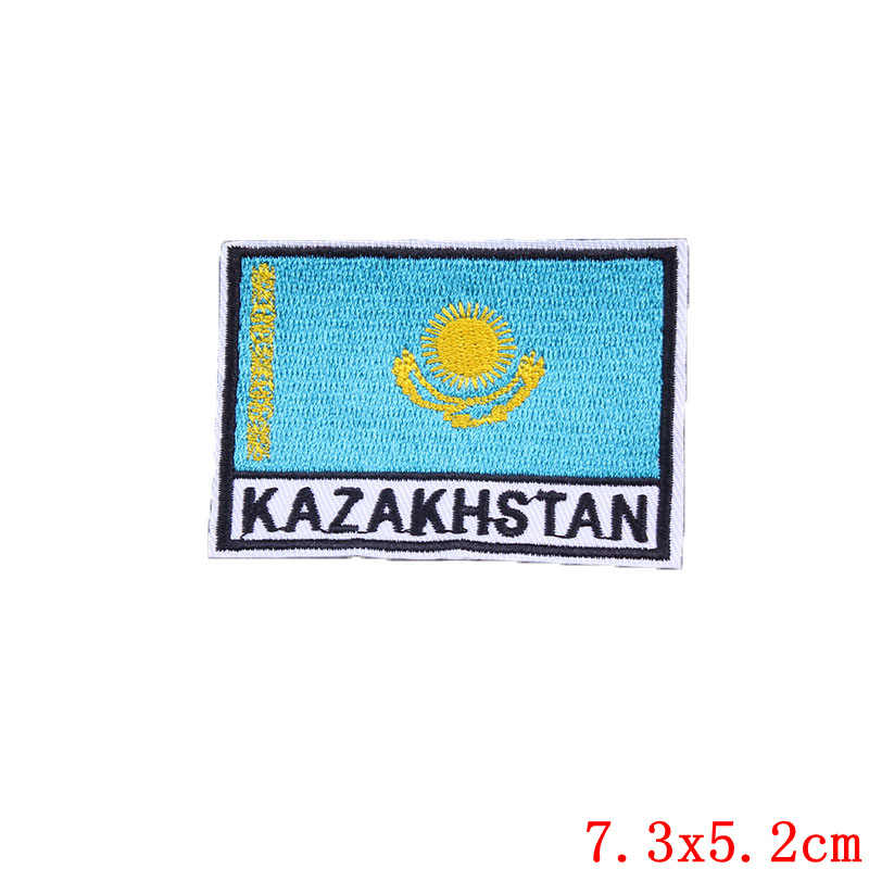 Pulaqi 7cm x 5cm Europea bandiera Ucraina UE Repubblica di Irlanda Croazia Scozia Russia Toppe e Stemmi 3D bandiera Patch per giacca di Jeans Jean abbigliamento H