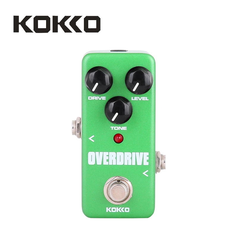 KOKKO FOD3 Mini Overdrive Pedal Portable Guitar Effect Pedal High Quality Guitar Parts & Accessories