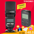YONGNUO YN685 YN-685N Wireless HSS TTL Flash Speedlite for Canon Nikon+ YN622C-TX/ YN622N-TX Kit Set