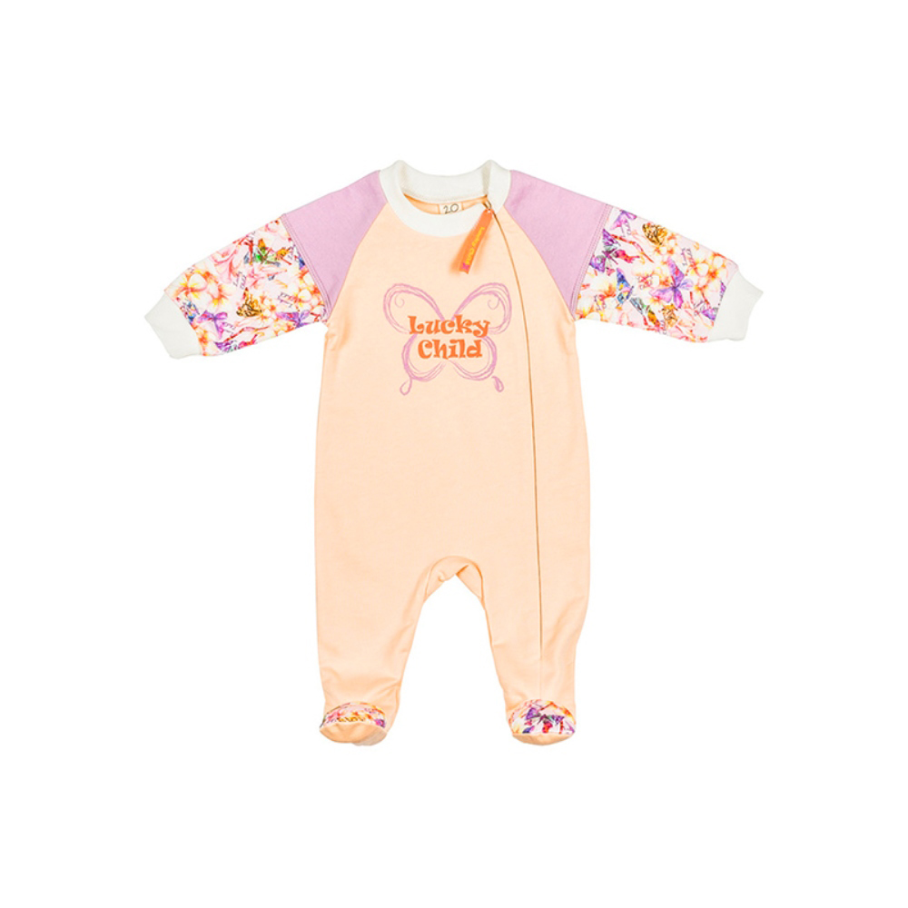 Jumpsuit Lucky Child for girls 26-13 Children's clothes kids Rompers for baby new baby sleeping bag soft cotton autumn child sleep suit u collar baby sleepsacks dogs clothes autumn winter