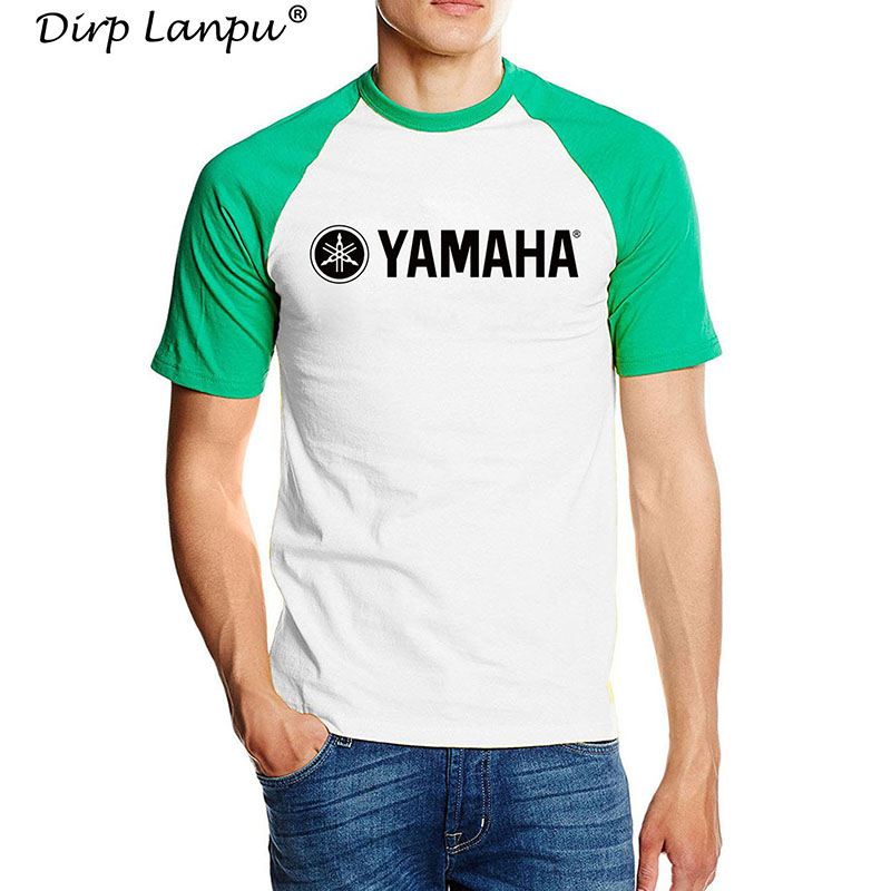 ca898a10 Cool Brand YAMAHA LOGO T shirt Brand Clothing Letter Print tees Short  Sleeve High Quality Raglan T Shirt for women and men top-in T-Shirts from  Men's ...