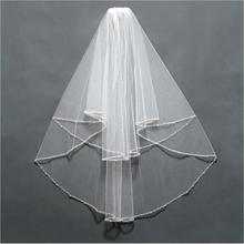 حافة طرحة مع الزفاف