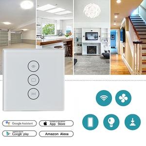 Image 2 - WiFi สมาร์ทสวิตช์ม่าน Smart Life Tuya สำหรับมอเตอร์ไฟฟ้าผ้าม่าน Roller Shutter ทำงานร่วมกับ Alexa และ Google Home
